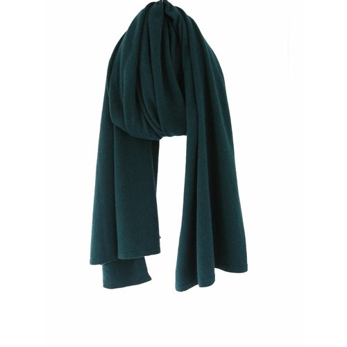 Sjaal SjaalMania Cosy Short Bottle Green