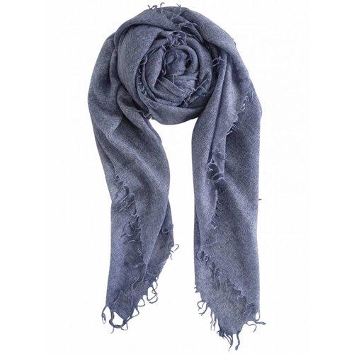 sjaal SjaalMania Cashmy 100% Blue Melee