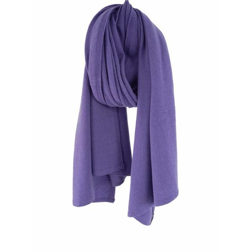 Sjaal SjaalMania Cosy Short Soft Purple