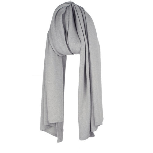 Travel Wrap Cosy Short Solid Grey