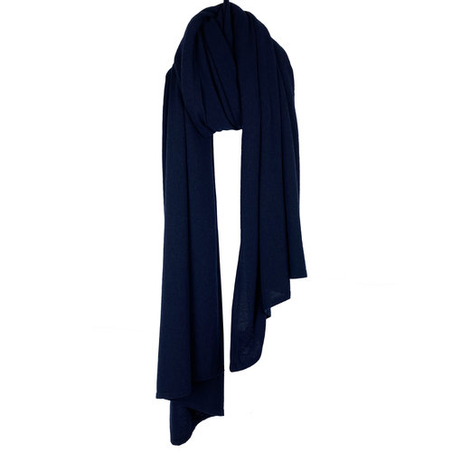 Cosy Travel Light Wrap - Navy