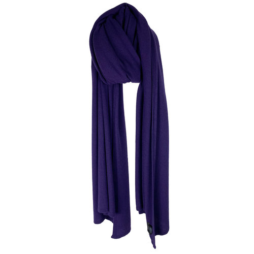 SJLMN - The Travel Light Wrap - Purple Black