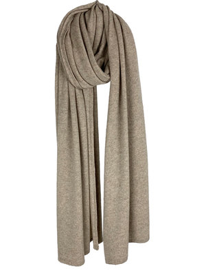 The Travel Light Wrap - Soft Taupe Melee