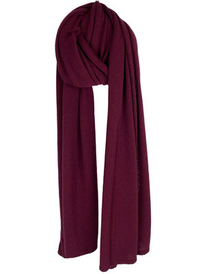 SJLMN - The Travel Light Wrap - Burgundy