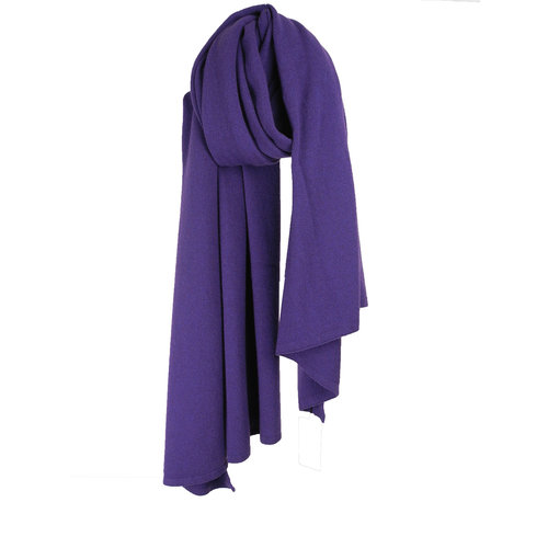 Sjaal SjaalMania Cosy Short Colour Purple