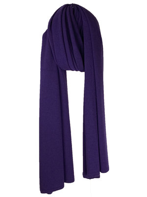 Sjaal SjaalMania Cosy Chic Deep Purple