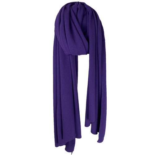 Sjaal SjaalMania Cosy Chic Colour Purple