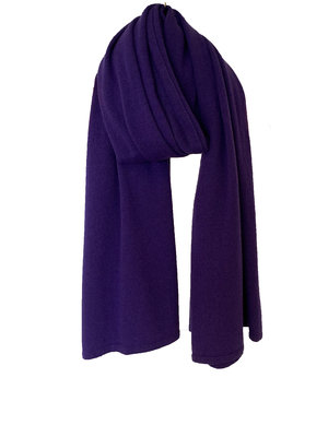 Sjaal SjaalMania Cosy Short Deep Purple