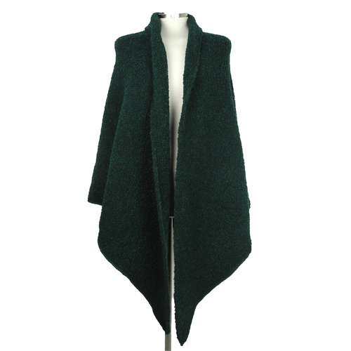 SjaalMania Big  Wrap Boucle Bottle Green