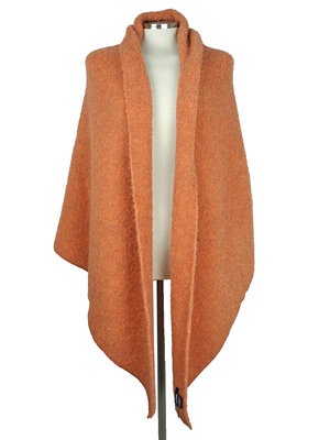 SjaalMania Big Wrap Boucle Peach