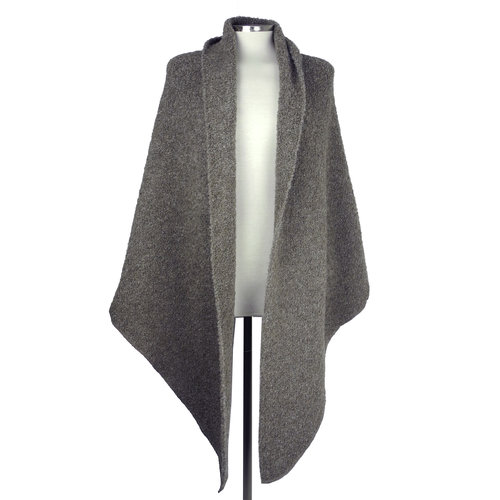 SjaalMania Big Wrap Boucle Taupe