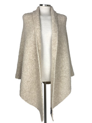 Cosy Big Wrap Boucle Sand