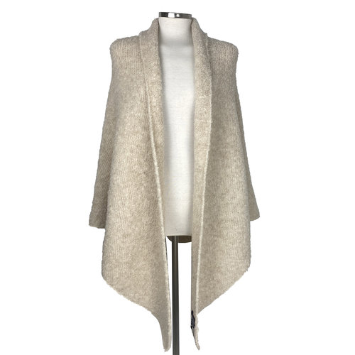 SjaalMania Big Wrap Boucle Sand