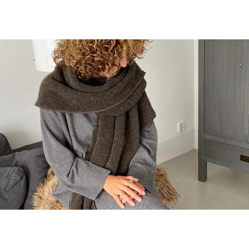 Cosy Big Wrap Boucle Earth