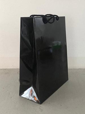 SjaalMania Paper Cadeau Bag Glossy Bag Black
