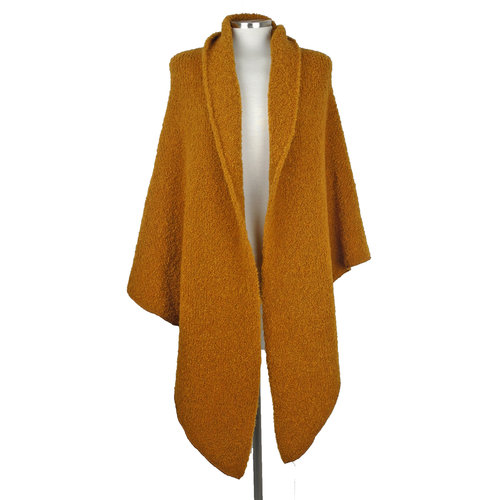 Cosy Big Wrap Boucle Indian Summer