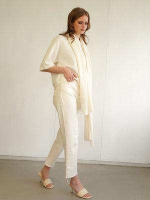 Cosy Scarf 100% Cashmere Off White