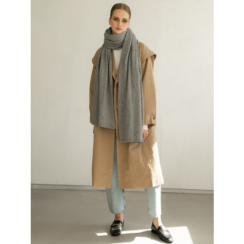Travel Wrap Cosy Chic Mid Grey Melee