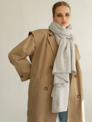 Sjaal Cosy Chic Pearl Grey Melee