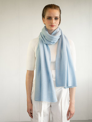 Sjaal Cosy 100% Cashmere Airy Blue