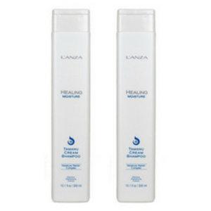 Lanza Healing Moisture Tamanu Cream Shampoo 300ml Duopack