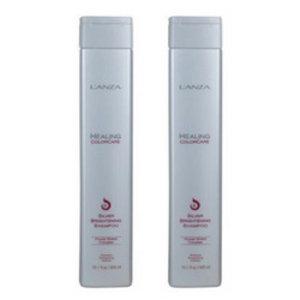 Lanza ColorCare Silver Brightening Shampoo 300ml Duopack