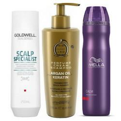 Shampoo voor de gevoelige hoofdhuid