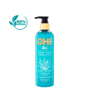 CHI Aloe Vera with Agave Nectar Curl Enhancing Shampoo 340ml