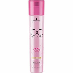 Schwarzkopf BC Bonacure Color Freeze Gold Shimmer Micellar Shampoo 250ml