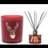 Ted Sparks Cinnamon and Sandalwood Diffuser & Geurkaars Combi Pack