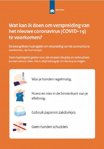 Het Coronavirus en Meervoorhaar.nl