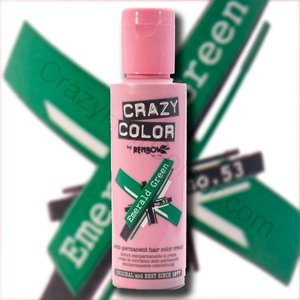 Crazy Color Emerald Green