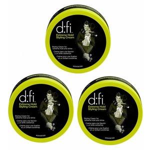 D:FI Extreme Hold Styling Cream 3 stuks