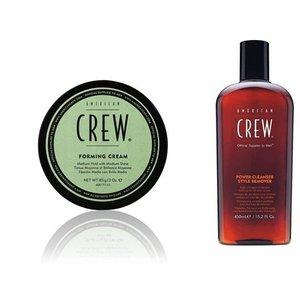 American Crew Forming Cream + Power Cleanser Style Remover