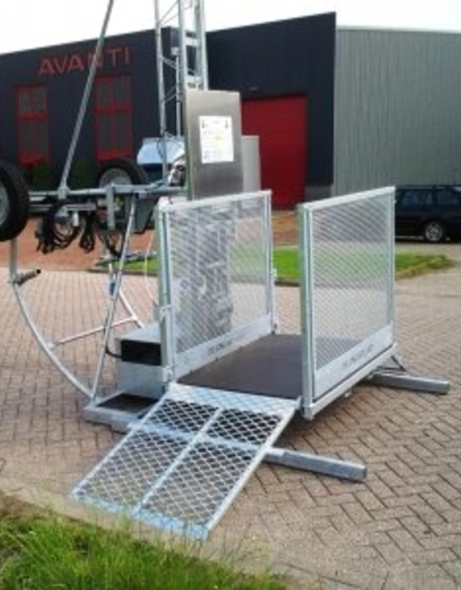 De Jong's A34L Goederenlift