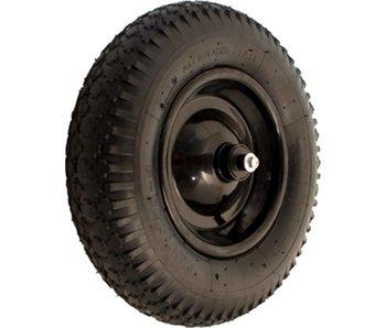 Kelfort Wiel voor kruiwagen - Zwart metalen velg