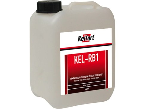 Kelfort Cement Kalk-Zout Verwijderaar voor Gevels - 5L