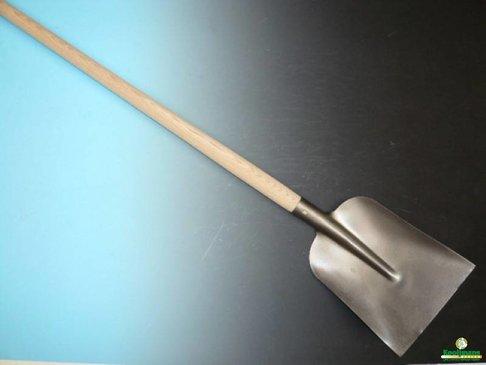 Betonschop 1/2 0, gelakt met essen PE Import batsesteel 130 cm