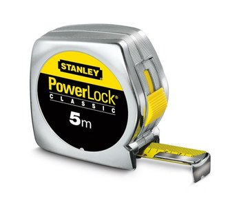 Stanley Rolmaat Powerlock - 5 m
