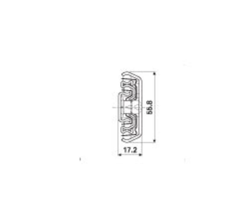 Ladegeleider ULF HD D zonder ladedrager volledig uittrekbaar