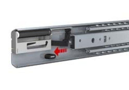 Ladegeleider ULF HD S, volledig uittrekbaar, SOFT CLOSE, zonder ladedrager