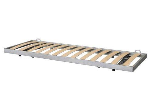 Mechaniek LUNA, onderbed, wordt onder een plank/bank uitgeschoven
