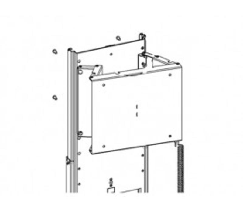 Handmatig draaibare muurbeugel SB003 voor opTV lift TS700 - TS750 & TS1000