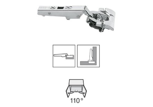 BLUM 110º scharnier inserta Blumotion(soft close) opliggend