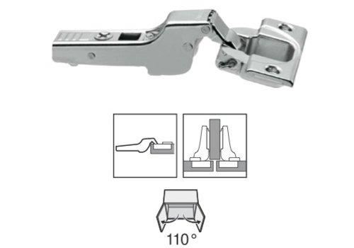 BLUM 110º scharnier schroeftop zonder veer half opliggend