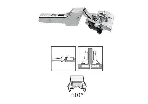 BLUM 110º scharnier inserta Blumotion(soft close) half opliggend