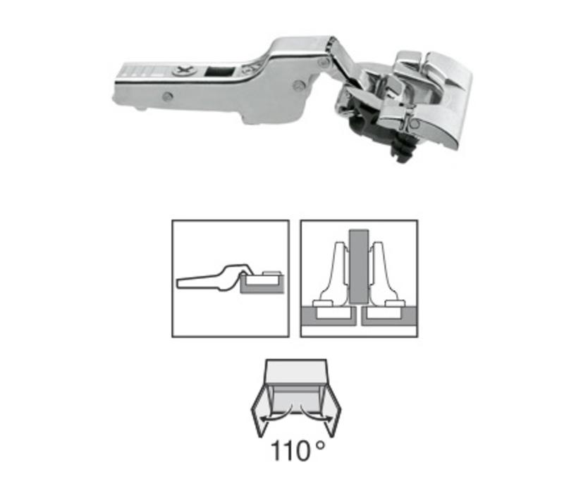 BLUM 110º scharnier. Inserta met Blumotion(soft close)