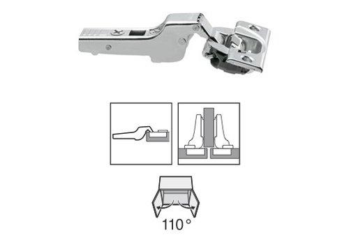 BLUM 110º scharnier schroeftop Blumotion(soft close) half opliggend