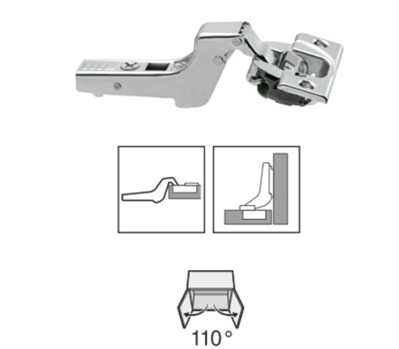 BLUM 110º scharnier. schroeftop met Blumotion(soft close)