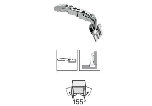 BLUM 155º scharnier met veer inserta opliggend